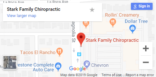 Map of Fountain Valley Chiropractors